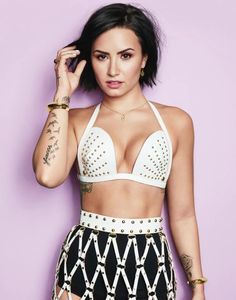 This Is Demi Lovato Like You've Never Seen Her Before