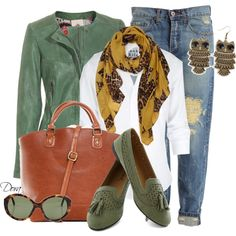 """Baggy jeans jackett"" by doradabrowska on Polyvore"
