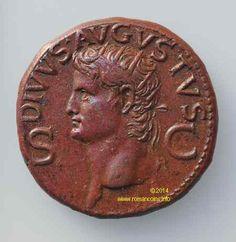 1st Century BC Roman Portrait Coins Mediterranean Design, Roman Art, 1st Century, Bikram Yoga, World Coins, Secret Places, Pompeii, Ancient Rome, Coin Collecting