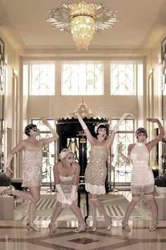 Be a Gatsby girl at Claridge's and learn to dance the Charleston, as seen on BridesMagazine.co.uk (BridesMagazine.co.uk)