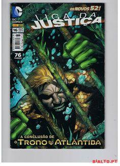 DC COMICS #16-LIGA DA JUSTIÇA,OS NOVOS 52! (2013) à venda | Comprar e vender a Leilao ou Preço fixo | Compras Online no Bialto.pt