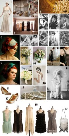 What a cute flapper party this would make from  http://blissfulfetes.blogspot.com/search/label/inspiration%20boards