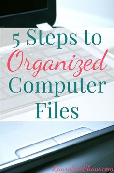 Tired of wasting time searching for the file you need? Follow these 5 easy steps to get your computer files nice and organized.