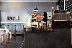 Kaffee Bar: No Fire No Glory Rykestr. 45, 10405 Berlin (Prenzlauer Berg)