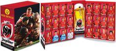 Football Cartophilic Info Exchange: Juliper (Belgium) - Rode Duivels / Red Devils Cans