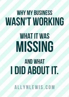 Why my business wasn't working, what it was missing, and what I did about it. >> allynlewis.com/?utm_content=buffer03a6f&utm_medium=social&utm_source=pinterest.com&utm_campaign=buffer http://allynlewis.com/?utm_content=buffer03a6f&utm_medium=social&utm_source=pinterest.com&utm_campaign=buffer/?utm_content=buffer03a6f&utm_medium=social&utm_source=pinterest.com&utm_campaign=buffera-note-to-entrepreneurs-dont-forget-the-power-of-your-story/?utm_content=bufferd6a6d&utm_medium=social&utm_source=pint…