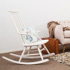 Sena Rocking Chair - White - by Vivonia #MONOQI