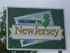 Welcome to New Jersey-Lived in South Jersey most of my life.