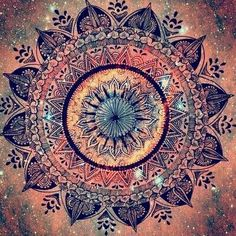 Absolutely beautiful mandala...the only tattoo urge I've ever had. Upper inner arm, with pastel colors and seamless gradients.