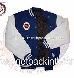 Custom Varsity Jackets / Letterman Jackets Wool Leather Jackets