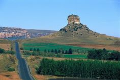 Ficksburg in the south of the Eastern Free State, along the beautiful Maluti mountain range...