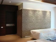 Art Work Panel For Interior Purpose, Totally Hand Carved Motif In  Siporex(light Wight Concrete Block) Done With Milind.