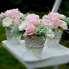 How Wedding Registry Works Floral Centerpieces, Wedding Centerpieces, Wedding Table, Flower Arrangements, Wedding Decorations, Quinceanera Decorations, Flower Decorations, Shabby Chic Flowers, Tea Length Wedding Dress