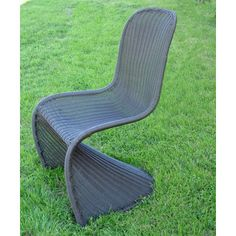 mary outdoor lounge chair from international caravan ... 20 lbs, $137 . wicker resin and metal