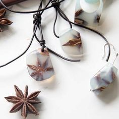 Resin and Star Anise Jewelry