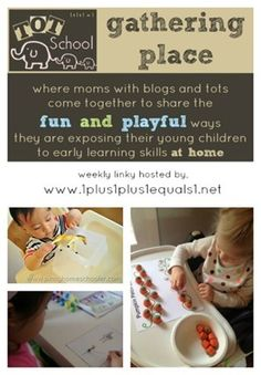 Tot School Gathering Place ~ Week 93