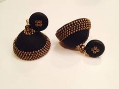 Image result for paper jhumkas designs