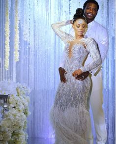 81f35edaafe Keyshia Kaoir and Gucci Mane Wed with the Bride in Custom Charbel Zoe and  Youseff Al Jasmi and the Groom in Custom Hideoki Bespoke (The Fashion Bomb  Blog)