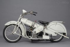 The White Mars Motorcycle