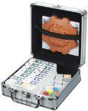 Cardinal Industries Mexican Train Domino Game in an Aluminum Case  List Price: $19.99 Discount: $5.00 Sale Price: $14.99
