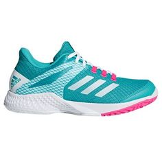 san francisco 93d1a 8b0dd The women s adidas adizero Club 2 tennis shoes are designed for fast and  aggressive players and