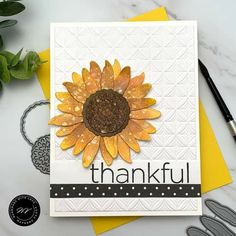 Thank You Greetings, Thank You Messages, Thank You Cards, Thanks For The Gift, Fall Cards, Cardmaking, Scrap, Thankful, Paper Crafts
