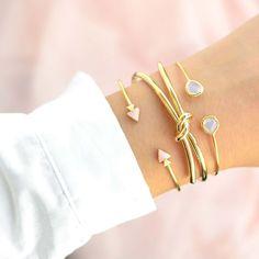 Majolie - Bracelet Jonc Lasso Or – Majolie - Des bijoux prêts à offrir!