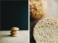 The brioche collection by sixty%baking: I just love the photo on the left. So simple, yet the background has the contrast of black and white and has a composition of 1/3-2/3 and the chiaroscuro lighting is just beautiful.