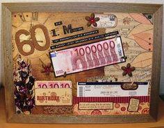 Meine Mutter hatte am Sonntag ihren 60. Geburtstag, da hab ich wieder allerhand gewerkelt. Zuerst möchte ich das Geschenk zeigen. S...
