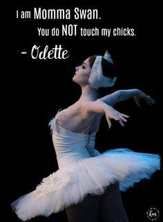 Kathryn Morgan as Odette in 'Swan Lake'.