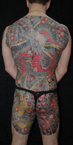 Traditional dragon back.