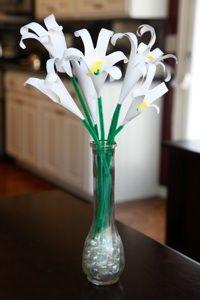 handprint paper lilies