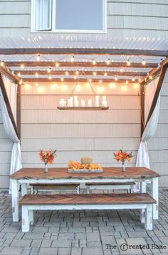 Are you planning to make a wonderful DIY pergola design in your garden? Then check 16 DIY Pergola Projects with plans that will help you build a great looking pergola to your favorite Pergola Cost, Patio Pergola, Cheap Pergola, Small Pergola, Pergola Shade, White Pergola, Backyard Seating, Modern Pergola, Small Deck Patio