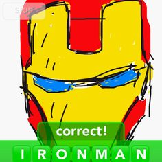 Ironman (draw something)
