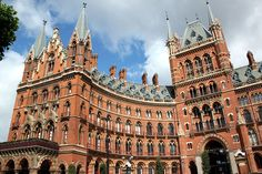 St Pancras Renaissance London Hotel 2011-06-19 - Wikipedia, the free encyclopedia - formerly the Midland Hotel, opened 1873, designed by George Gilbert Scott