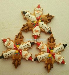 Christmas Cookies ~ Snow Crystal ~ Cookie Connection