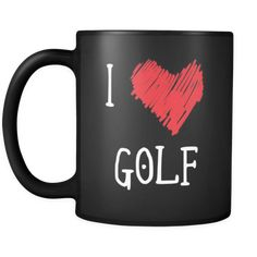 [product_style]-Golf I Love Golf 11oz Black Mug-Teelime