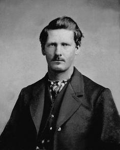 Wyatt Earp, 1881. #Victorian #wild_west #old_west