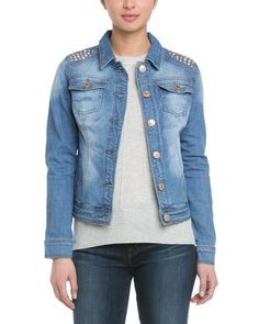 Point Zero Studded Denim Jacket is on Rue. Shop it now.