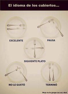 Lenguajes en el Restaurant