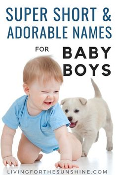 Are you looking for a super short name for your new baby boy? This list of three letter names for boys will help you find that perfect name for your baby! Welsh Names, Short Boy Names, Baby Girl Names, Boy Names With J, Baby Boy Names Strong, Rustic Boy Names, Old Fashioned Names, Classic Names, Brother Bear