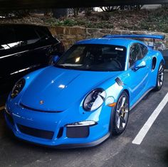 Porsche 991 GT3 RS painted in paint to sample Voodoo Blue Photo taken by: @speedracer38 on Instagram