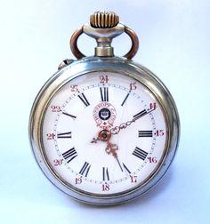 Antiguo Reloj De Bolsillo Suizo ROSSKOPF & Co. por shopvintage1