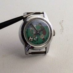 Vintage 1960s Wotania Hand Winding Swiss Mechanical Football Soccer Watch - WatchRevive