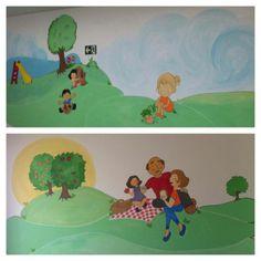 Pintura mural Ilustração infantil