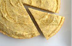 Quinoa Cornbread // Fit Foodie Finds