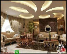 The living room is the place where friends and family gather to spend quality time in a home, so it's important for living room ideas to be well-designed. Fall Ceiling Designs Bedroom, House Ceiling Design, Ceiling Design Living Room, Bedroom False Ceiling Design, False Ceiling Living Room, Ceiling Light Design, Hallway Designs, Modern Bedroom Design, Ceiling Decor