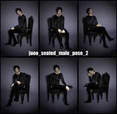 /Seated on the chair → stereo 'listen music'downloaddetails screenshot hair top bottom shoes piercing /