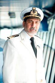 Captain Raffaele Russo: Started his career in 1982 as first officer and in 1988 he was given his first command of an MSC Cargo vessel, going on to command these vessels for 23 seasons. In 2006 MSC offered him his first command of a cruise ship, the Monterey. Today he is on his 9th season with MSC Cruises. Captain Raffaele Russo has commanded Musica and Lirica class ships as well as the Melody. (updated: 2012)