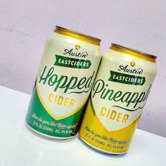 How do you like them apples?! No seriously come tell us how you like these two new #ciders from #austineastciders! Both are made with 50% juice from apples and contain brown suger! Try it hopped if you want a kick or try pineapple if your looking for something different! #texascider #ciderporn #instacider #cannedcider #hardcider #howdoyoulikethemapples